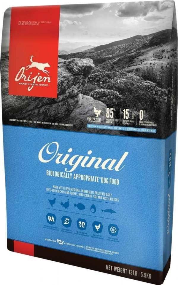 Orijen Original Dog Food Front of Bag