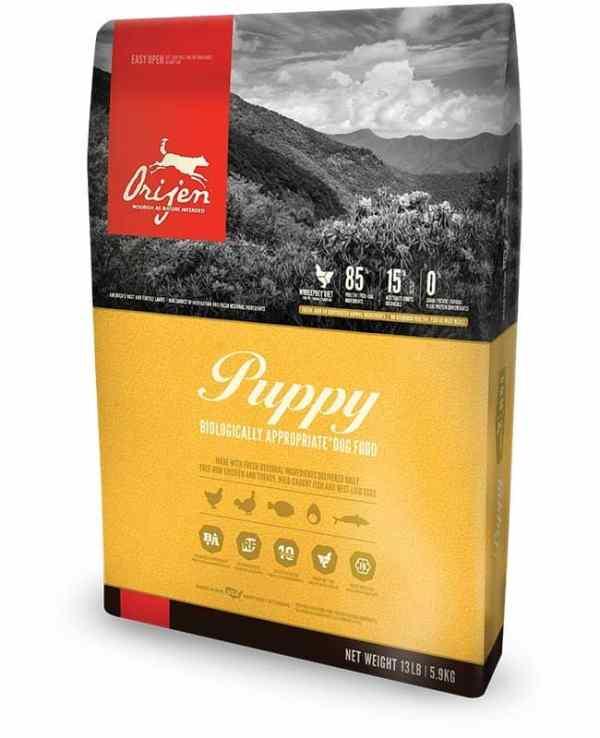 Orijen Puppy Front of Bag