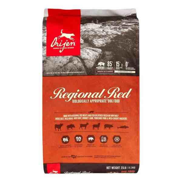 Orijen Regional Red Front of Bag