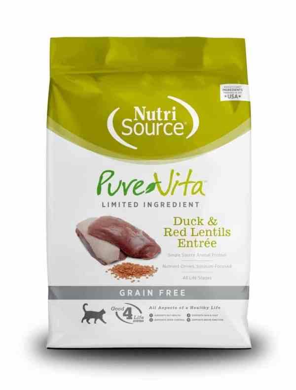 PureVita Duck & Red Lentils Front of Bag