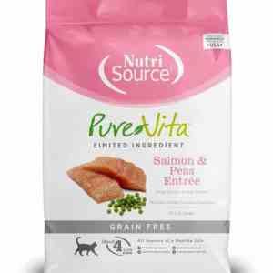 PureVita Salmon & Peas Front of Bag
