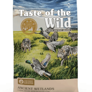 Taste of the Wild Ancient Wetlands Front of Bag