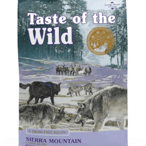 Taste of the Wild Sierra Mountain Front of Bag