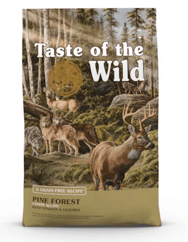 Taste of the Wild Pine Forest Front of Bag