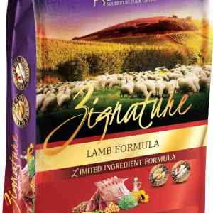 Zignature Lamb Front of Bag
