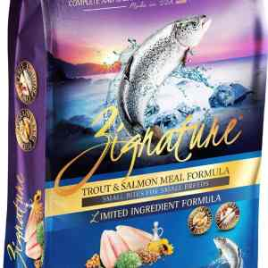 Zignature Trout & Salmon Front of Bag
