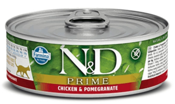 Chicken and Pomegranate front of can