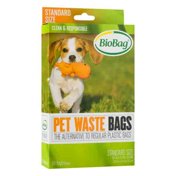 BioBag pet waste bags 50