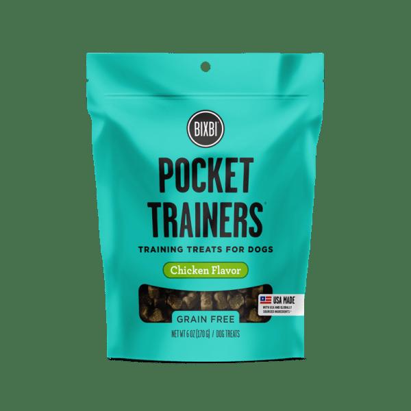 Bixbi pocket trainers chicken