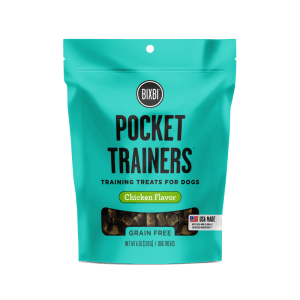 Bixbi pocket trainers chicken