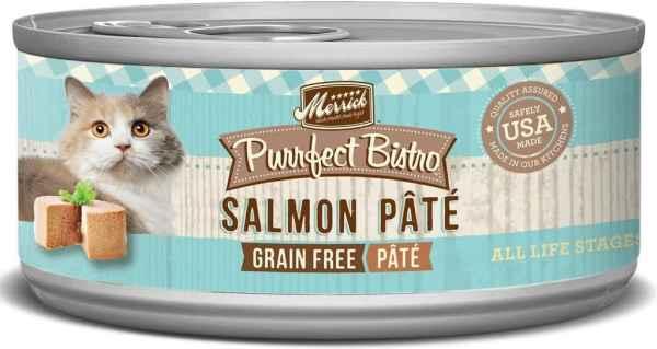 Merrick salmon pate canned cat food 5.5oz