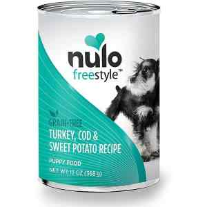 Nulo turkey cod sweet potato puppy canned food 13oz