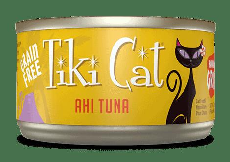 Tiki Cat Ahi Tuna canned cat food 2.8oz