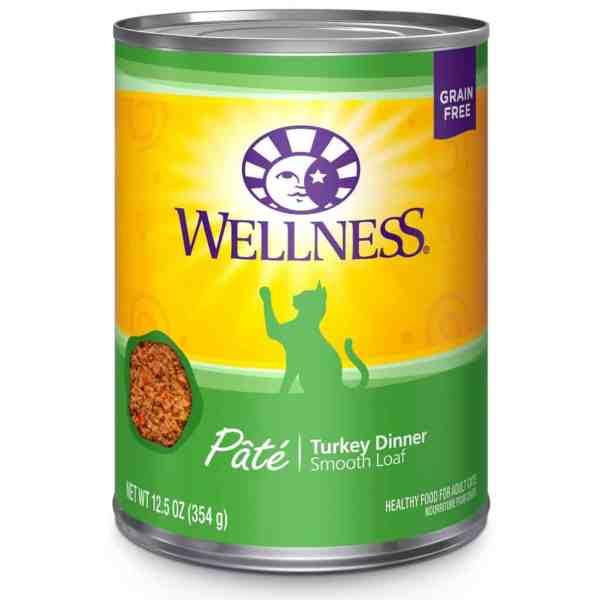 Wellness cat turkey dinner 12.5oz