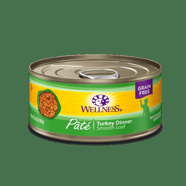 Wellness turkey dinner 5.5oz canned cat food