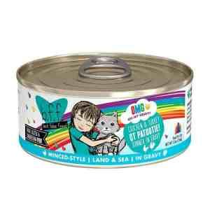 Weruva BFF OMG chicken turkey qt patootie canned cat food 5.5oz