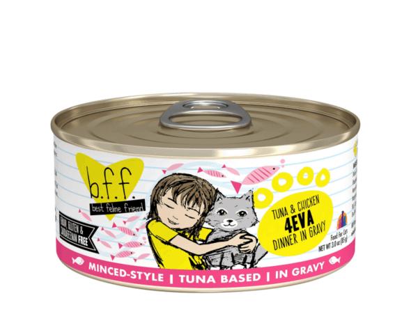 Weruva BFF Tuna & Chicken 4eva canned cat food 5.5oz