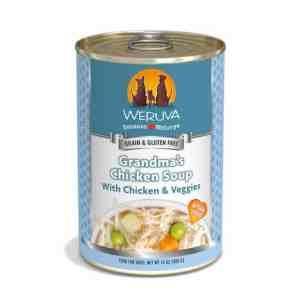 Weruva Grandma's Chicken Soup 14oz canned dog food