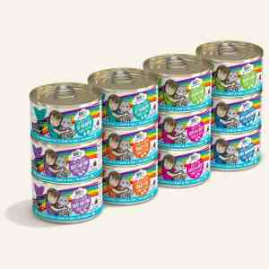 Weruva rainbow road 12pack canned cat food 2.8oz