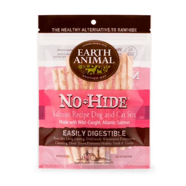 Earth Animal No Hide Salmon Stix 10-pack