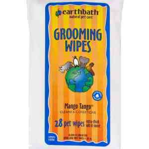 Earthbath Grooming WIpes Mango Tango