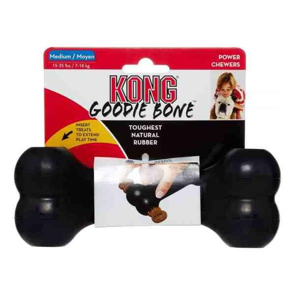 Kong Black Goodie Bone
