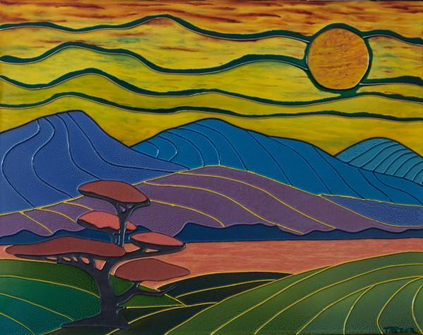 Colorist Study #4 - Colorist Art - Algonquin Collection 3-1-2 #8