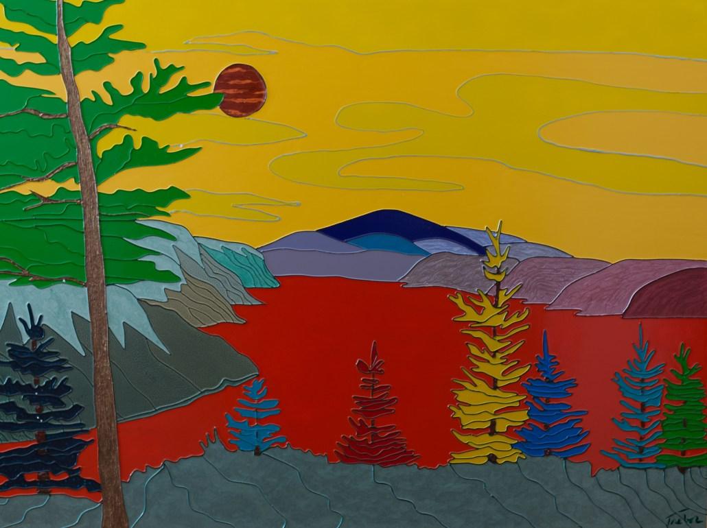 Saguenay Fjord - Colorist Art - Laurentian Collection 3-1-1 #4