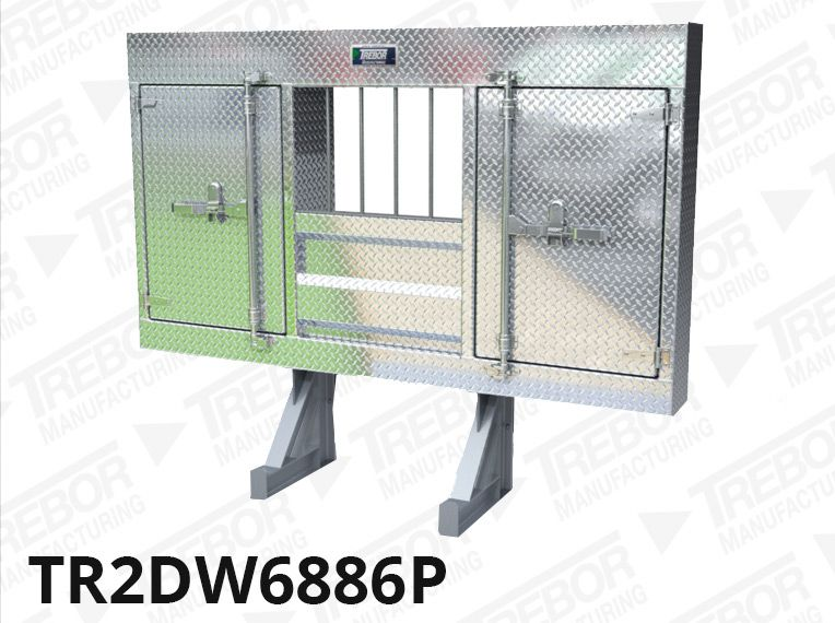 enclosed headache rack for semi truck