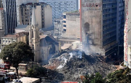 Tragédia em prédio de São Paulo leva a vida de Catadora e seus filhos