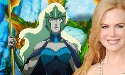 Nicole Kidman é a mais nova integrante do futuro longa-metragem de Aquaman, dirigido por James Wan. Muito animada relatou detalhes ao Entertainment Weekly.