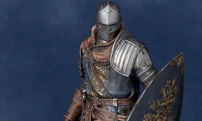 Novo colecionável de Dark Souls foi anunciado pela fabricante japonesa Gecco. A peça representa o personagem Oscar, o Cavaleiro de Astora. Confira.