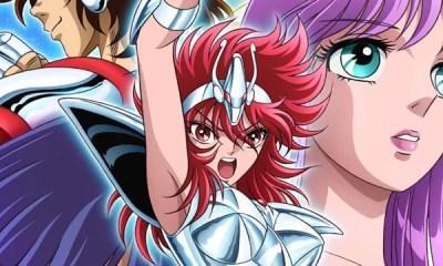 A revista Champion Red revelou o que seria a primeira imagem promocional da adaptação para anime do mangá Saint Seiya: Saintia Sho. Confira!