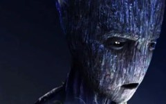 Groot adolescente é destaque no cartaz de Vingadores: Guerra Infinita