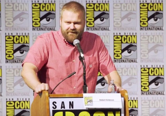 Robert Kirkman garantiu crossover entre as séries.