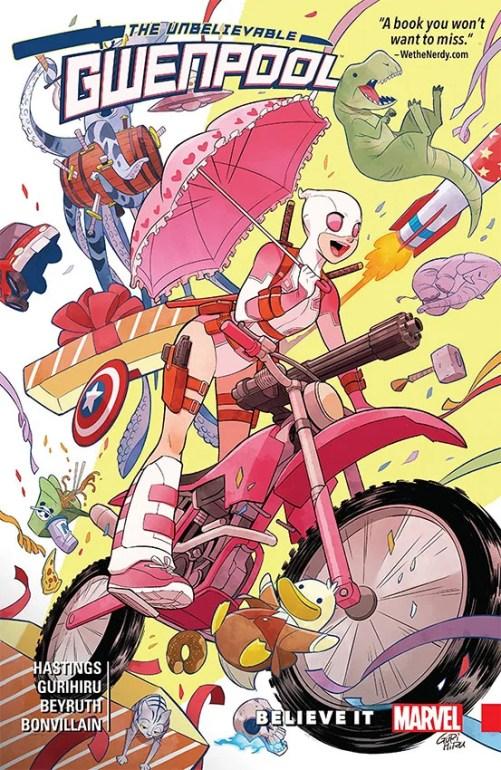 Gwenpool será cancelada pela Marvel. Confirma um dos autores da HQ
