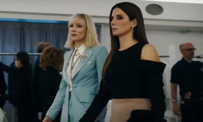 Uau!   Confira o primeiro trailer de Oito Mulheres e Um Segredo