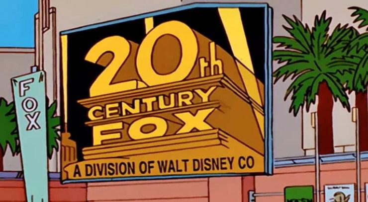 Série Os Simpsons previu a compra da 21th Century Fox pela Walt Disney Co.