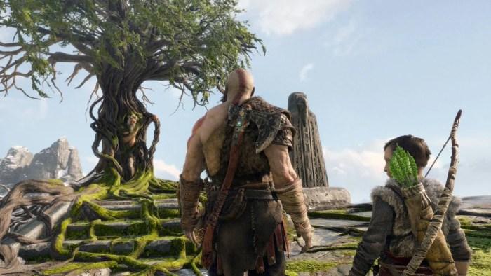 Novas imagens de God of War são compartilhadas por diretor de arte