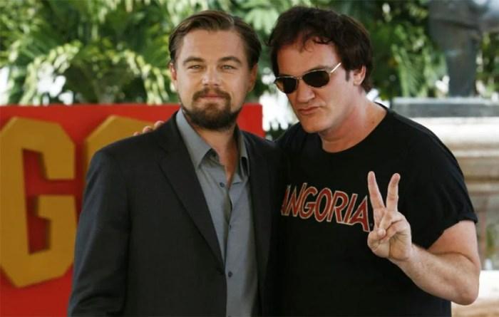 Leonardo DiCaprio é cotado para protagonizar novo filme de Quentin Tarantino
