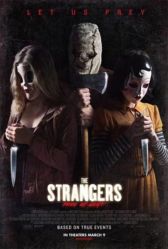 Sequência Os Estranhos 2 (The Strangers: Prey at Night) ganha trailer repleto de suspense