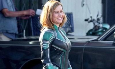 Capitã Marvel   Vídeo do set de filmagens vaza na internet