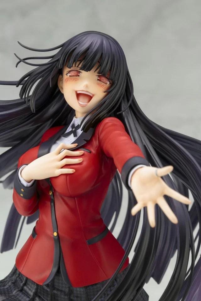 Kakegurui | Personagem Yumeko Jabami ganha colecionável de linha da Kotobukiya