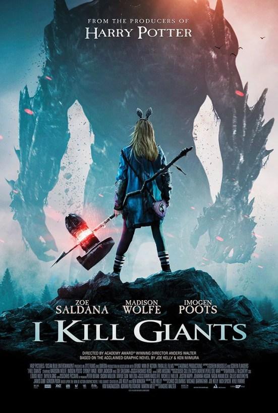 I Kill Giants tem poster promocional divulgado.
