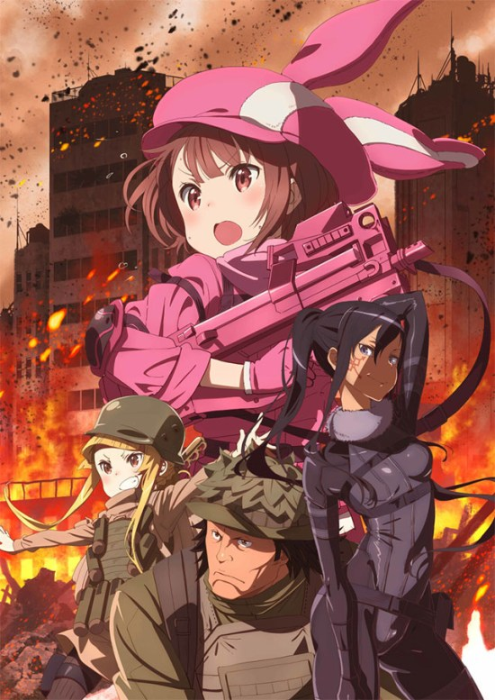 Sword Art Online Alternative Gun Gale Online ganha primeiro teaser
