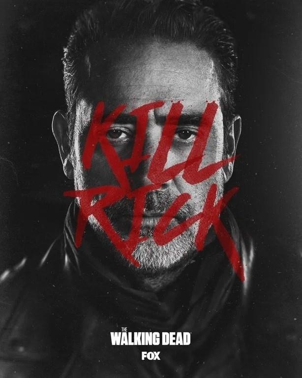 The Walking Dead: Poster com Negan faz 'campanha' para matar Rick