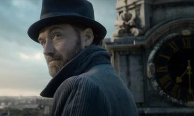 Dumbledore leciona em Hogwarts no primeiro teaser de Animais Fantásticos: Os Crimes de Grindelwald. Confira!