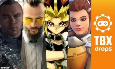 TBX Drops | Os destaques da semana sobre o mundo dos games
