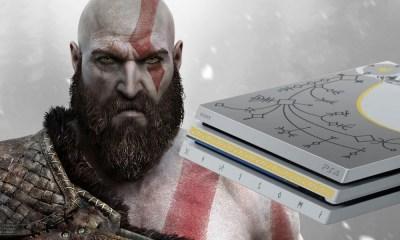 Bundle Especial do PS4 Pro com God of War é revelado