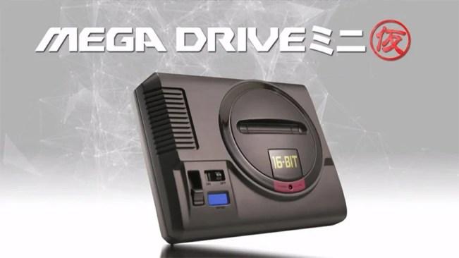 Mega Drive Mini é uma das grandes novidades da SEGA